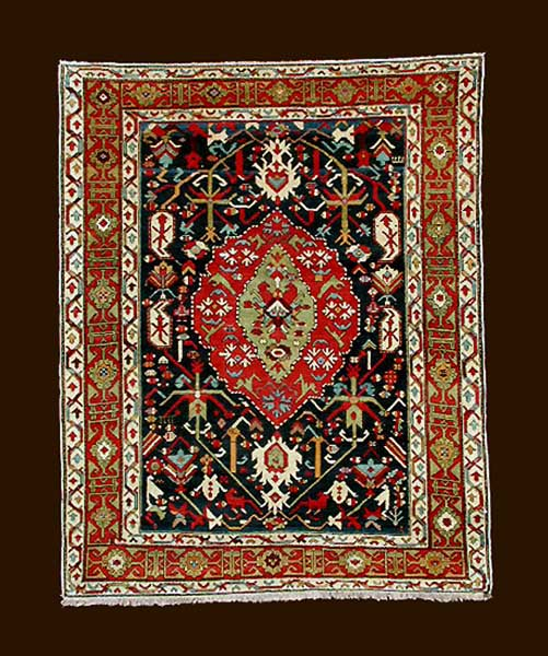 Delightful Here Is An Example Dated 1815 That I Believe Is An Armenian Rug That Has  Crosses Used In Its Composition. Included With The Many 5 Five Knot Crosses  Is One ...