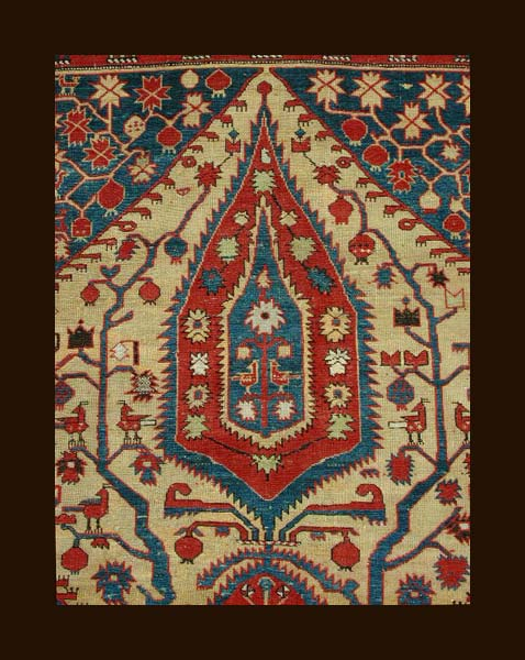 This Rug Embodies One Of The Clearest Symbolic Narratives I Have Ever Seen  Woven Into Any Oriental Rug. The Only Other Rugs I Am Familiar With  Containing ...
